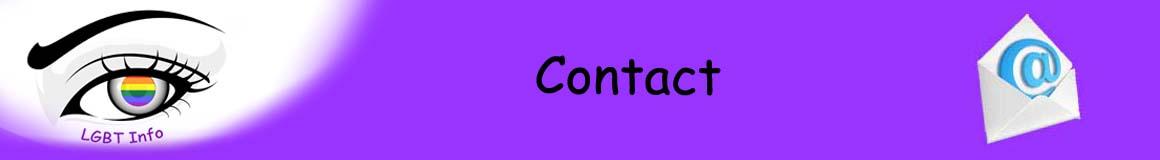 Bannière contact
